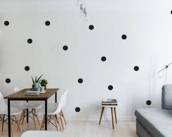 Kids Wall Decal Polka Dots Wall Stickers Nursery Baby Room Decoration Wall Art Wall Decal