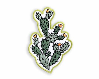 Cactus Patch, Cacti Flair, Cactus Iron on Patch