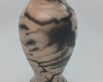 Naked Raku Vase Ready to ship