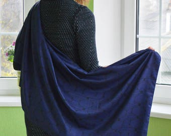 "Women""s silk shawls by Lara Korotenko"