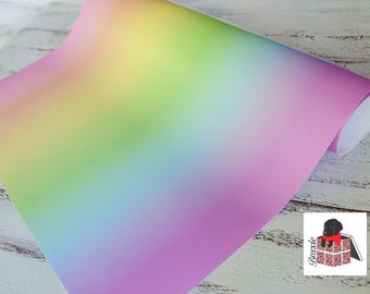 Pastel ombre wrapping paper sheets fade gradient gift wrap GWWC3