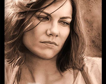 Maggie Greene 11 x 14 poster