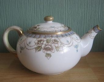 Vintage Noritake Hand painted Teapot
