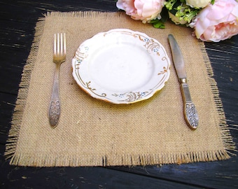 rustic placemats wedding table topper burlap square overlay table wedding decor burlap christmas table runner