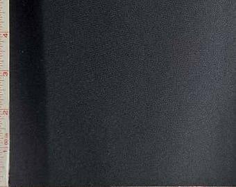"Black Interlock 1 Mil Coated PUL Polyurethane Laminate Fabric Polyester 58-60"" 238300"