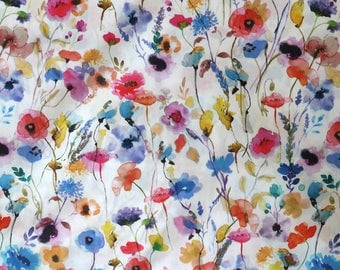 Fabric - Lady McElroy- Watercolours - 100% cotton lawn - woven fabric