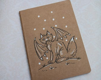 "sketchbook - notebook Kraft ""cat"""