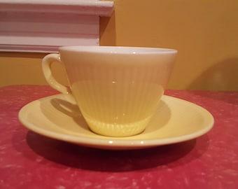 Vintage Rorstrand KOLORITA Hertha Bengtson Cups and Saucers