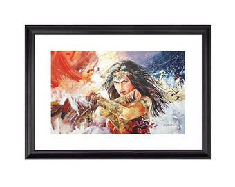 Digital Print - Wonder Woman