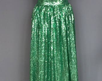 Summer Wedding Sale Ready to Wear 'Tia' long sequin skirt formal separates full ballgown different colors evening, prom or bridesmaid/bridal