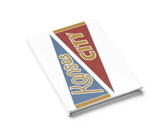 Landlocked Pennant Design - lined journal
