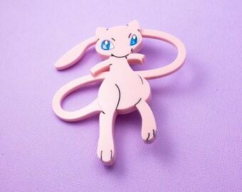 Mew Pokemon Brooch