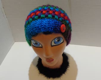 Teen/Adult Messy Bun Hat