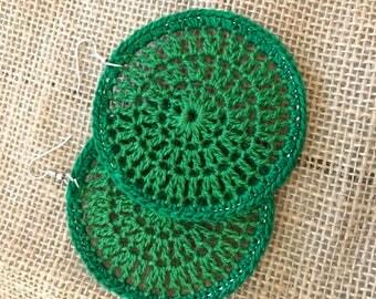 Crochet Earrings/Hoops\Hoops\Crochet Earrings/Hoop Earrings