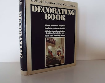 Vintage 1976 Better Homes And Garden Decorating Book Design Renovating Staging Retro