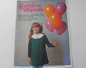 Golden Hands - vintage craft magazine 1970 part 25