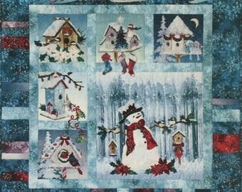 Season's Tweeting's Quilt Kit by McKenna Ryan
