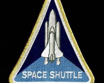 NASA Crew Patch program SPACE shuttle badge