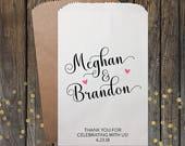 Wedding Favor Bag, Candy Buffet Bags, Party Favors, Wedding Favors, Favor Bags, Treat Bags, Party Bags, Custom Favor Bags, Kraft 303