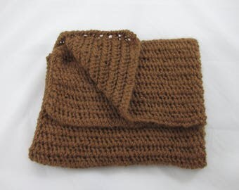 Hand Knit Alpaca Baby Blanket
