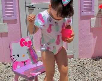 Melting Ice Cream - ice cream - leotard -toddler - bodysuit - ice cream