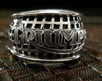 Triumph Bikers Ring Size 10.25, K07B12