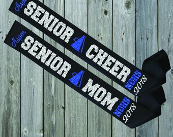 BLACK SASH Senior Mom