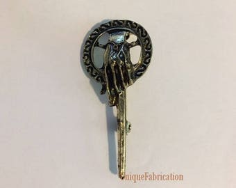 Game of Thrones Hand of the King Antiqued Bronzed Colored Brooch Pin