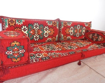 Arabic style majlis floor sofa set, floor couch, oriental floor seating,  floor seating