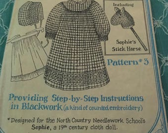 homestead doll dress pattern