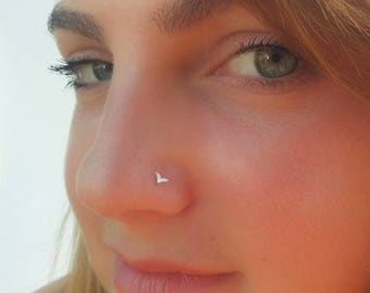 SALE15% Small nose ring, indian nose rings , nose rings, tiny nose stud ,Tragus , Indian nose stud, Tiny nose ring, nose stud, Cartilage,