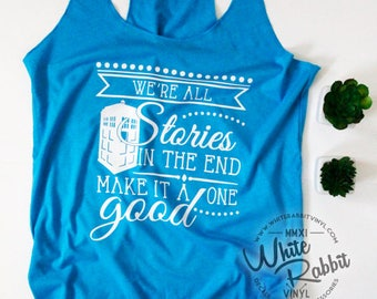Doctor Who Inspired Tank Top READY to SHIP