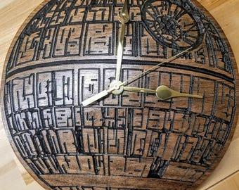 Death Star Clock/ Star Wars