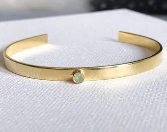 Opal Gold Cuf