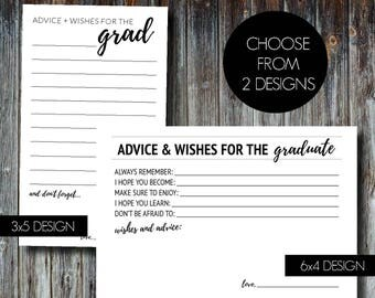 Graduate Advice and Wishes Cards