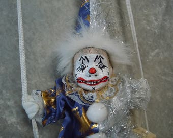Creepy Clown on a Swing #11  Day of the Dollies