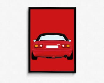 Mazda MX-5 A3 Print