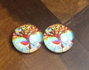 elephant earrings