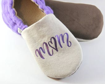Gift for Mom- Mothers Day Gift- Personalized Gift- Mom Gifts- Cozy Gifts- Purple Gift- Comforting Gift- Eco Friendly- Mom Easter Gift