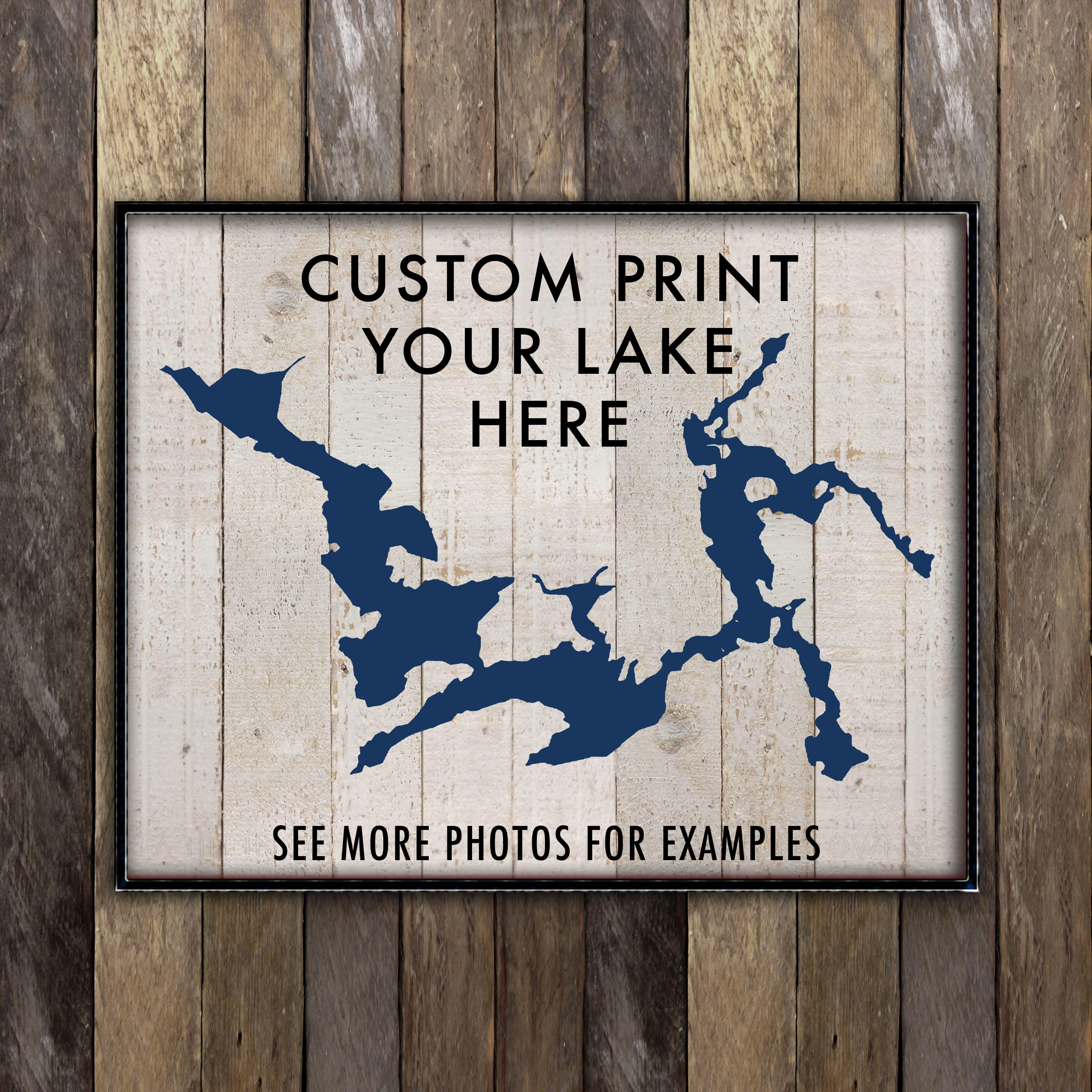 Personalized Signs For Home Decorating: Custom Lake House Sign Lake House Decor Lake Life Print