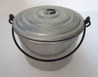 Camping Supplies Aluminum Cookware Sauce Pot w/ Lid