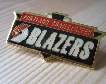 Vintage Portland Trailblazers NBA Lapel/ Hat Pin
