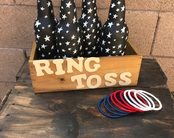 Lawn game Ring Toss- Star Spangle Set