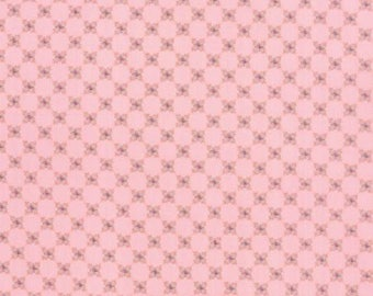 Moda Kindred Spirits Pink Floral Check by Bunny Hill Designs   #2898 19