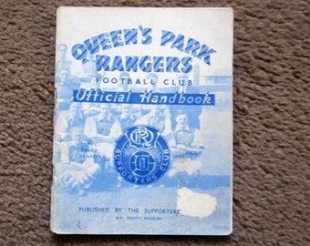 1949/50 Queens Park Rangers QPR Original Official Football Soccer Supporters' Club Handbook Yearbook Ideal Christmas Birthday Present