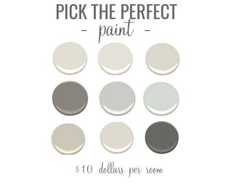 Pick the Perfect Paint | Ten Dollars / Room