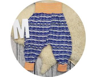 Pants, Jersey pants, Mitwachsen trousers, harem trousers, harem pants, baby pants, baby, cans, Popart, retro, cult, design