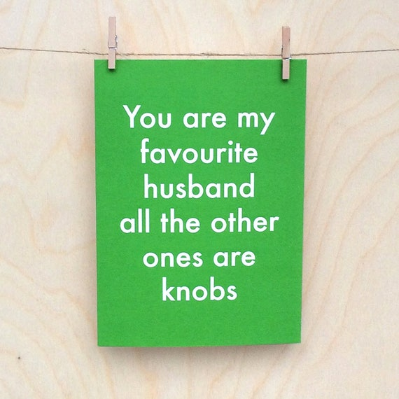 Funny birthday card, funny love birthday card, funny husband card,funny valentines