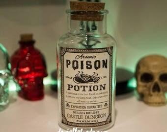 550ml Potion Poison Antique Style Apothecary Bottle