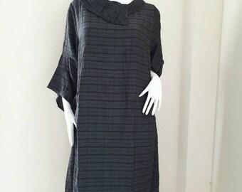 Vintage BIBA ZZIKI Cotton dress Oversize  Made in Japan